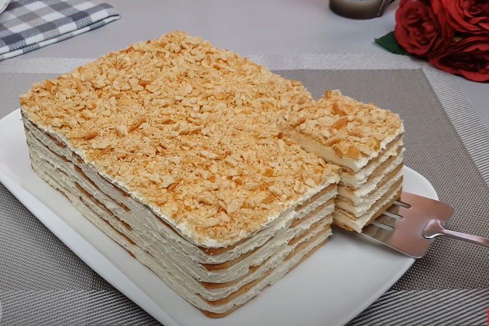 Napoleon torta recept