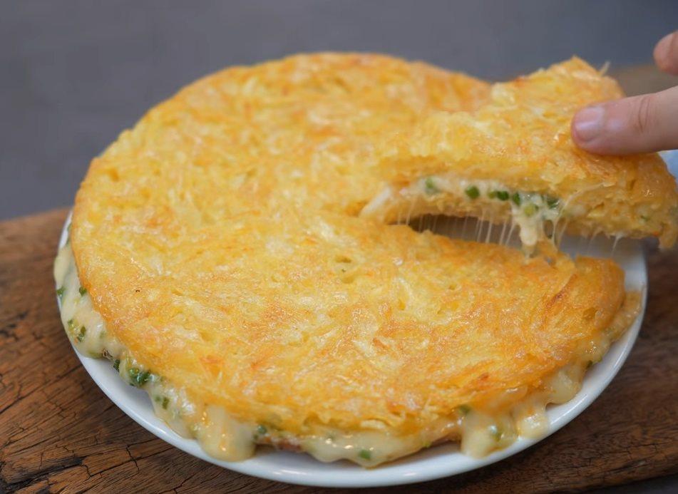 Omlet od krompira i sira