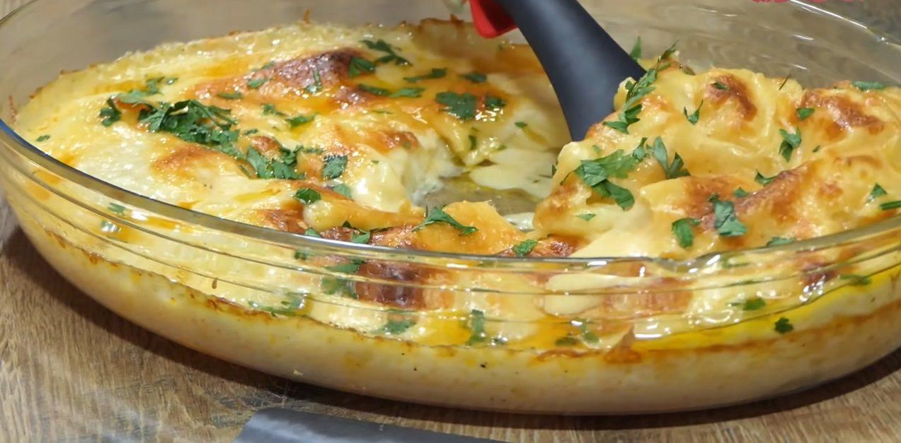 Krompir iz rerne sa mlekom