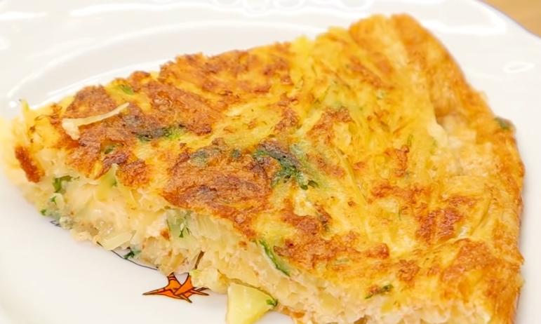 Kako napraviti omlet od krompira i sira