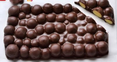 Mlečne kuglice prelivene čokoladom
