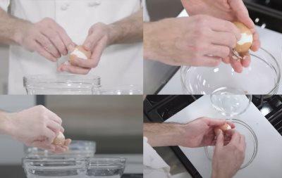kako da brzo oljuštite kuvana jaja