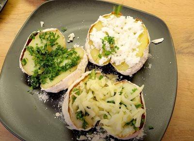 Punjeni krompir recept