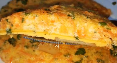 Recept za jelo od krompira i jaja