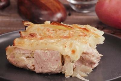 Svinjsko meso zapečeno sa krompirom