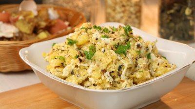 Recept za krompir salatu sa kuvanim jajima