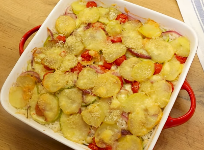 Recept sa tikvicama i krompirom
